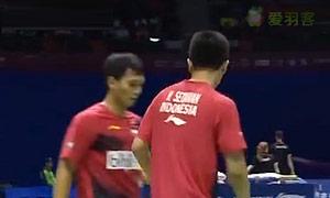 阿山/塞蒂亚万VS李胜木/蔡佳欣 2015苏迪曼杯 男双1/4决赛视频