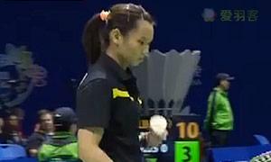 戴资颖VS玛努布蒂 2015苏迪曼杯 女单1/4决赛视频