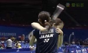 日本队3:2惊险战胜丹麦 晋级苏迪曼杯半决赛