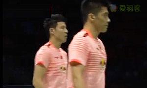 阿山/塞蒂亚万VS蔡赟/傅海峰 2015苏迪曼杯 男双半决赛视频