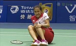 李雪芮VS玛努布蒂 2015苏迪曼杯 女单半决赛视频