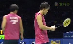 李龙大/柳延星VS桥本博且/平田典靖 2015苏迪曼杯 男双半决赛视频