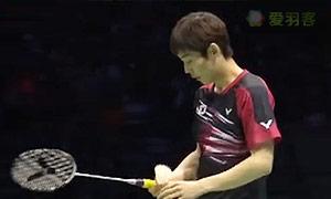 孙完虎VS上田拓马 2015苏迪曼杯 男单半决赛视频