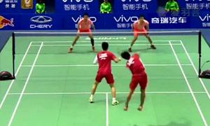 苏迪曼杯半决赛 中国VS印尼精彩集锦