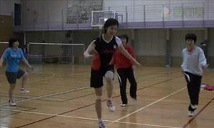 栗原文音的中国式步伐训练