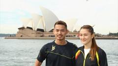 【图集】林丹格罗娅领衔 拍摄澳大利亚公开赛写真