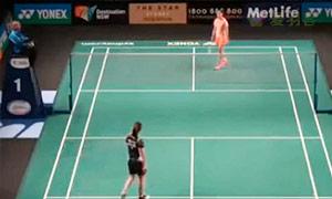 王适娴VS许雅晴 2015澳洲公开赛 女单资格赛视频