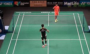 田厚威VS伍家朗 2015澳洲公开赛 男单资格赛明仕亚洲官网