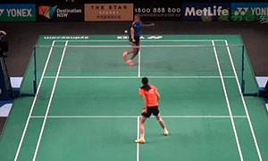 王仪涵VS辛德胡 2015澳洲公开赛 女单资格赛视频
