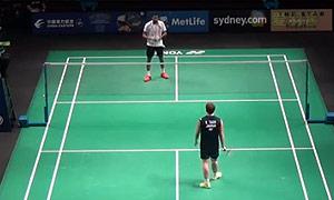 欧斯夫VS田儿贤一 2015澳洲公开赛 男单资格赛明仕亚洲官网