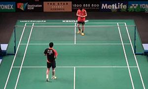 胡赟VS佐佐木翔 2015澳洲公开赛 男单资格赛视频