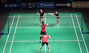 高爱罗/柳海媛VS穆斯肯斯/皮克 2015澳洲公开赛 女双资格赛视频