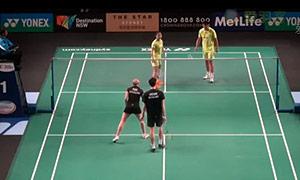 徐晨/马晋VS阿伦茨/皮克 2015澳洲公开赛 混双资格赛视频