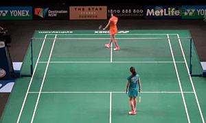 马琳VS妮查恩 2015澳洲公开赛 女单1/16决赛视频