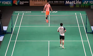 谌龙VS胡赟 2015澳洲公开赛 男单1/8决赛视频