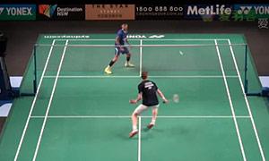 阿萨尔森VS薛松 2015澳洲公开赛 男单1/8决赛视频