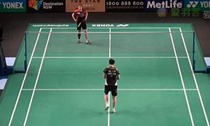 裴延姝VS白驭珀 2015澳洲公开赛 女单1/8决赛一分6合视频