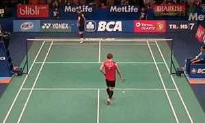 约根森VS李东根 2015印尼公开赛 男单1/16决赛视频