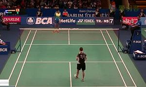 許雅晴VS辛德胡 2015印尼公開賽 女單1/16決賽視頻