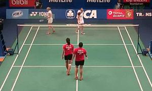 穆斯肯斯/皮克VS阿凡达/玛哈黛维 2015印尼公开赛 女双1/16决赛视频