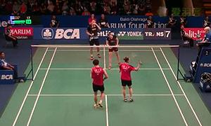 科丁/尤尔VS李龙大/李绍希 2015印尼公开赛 混双1/16决赛视频