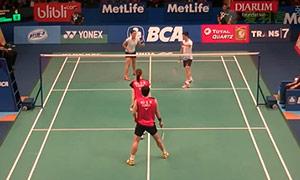高成炫/金荷娜VS陈润龙/谢影雪 2015印尼公开赛 混双1/8决赛视频