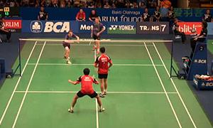 鲍伊/摩根森VS安德烈/古纳万 2015印尼公开赛 男双1/8决赛视频