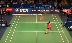 因达农VS布桑兰 2015印尼公开赛 女单1/8决赛视频