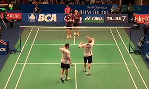 李龙大/柳延星VSM·埃利斯/兰格瑞奇 2015印尼公开赛 男双1/8决赛视频
