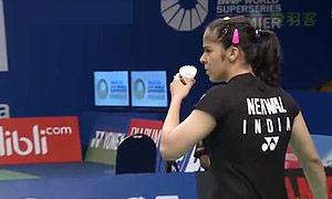 内维尔VS许雅晴 2015印尼公开赛 女单1/8决赛视频