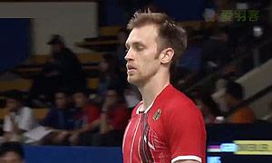 茨维布勒VS苏吉亚托 2015印尼公开赛 男单1/8决赛视频