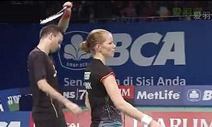 尼尔森/佩蒂森VS乔丹/苏珊托 2015印尼公开赛 混双1/8决赛视频