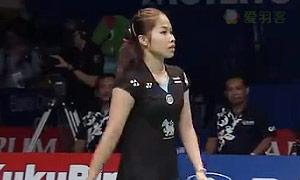 因达农VS法内特里 2015印尼公开赛 女单1/4决赛视频