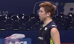 茨维布勒VS田儿贤一 2015印尼公开赛 男单1/4决赛视频