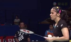 内维尔VS李佳馨 2017印度公开赛 女单1/16决赛视频