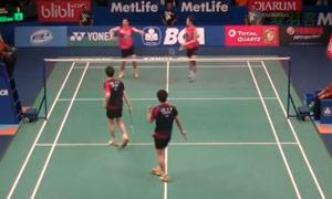 高成炫/申白喆VS李龙大/柳延星 2015印尼公开赛 男双半决赛视频