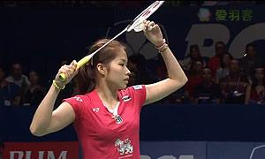 因达农VS桥本由衣 2015印尼公开赛 女单决赛视频