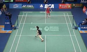 【先锋乒羽】2015年印尼羽毛球公开赛 十佳球