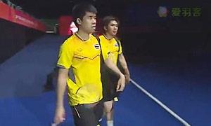 苏华迪/普拉塔玛VS博丁/尼迪蓬 2015东南亚运动会 男双决赛视频