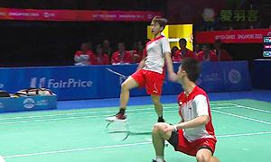 苏卡穆约/费尔纳迪VS巴甲瓦/瓦纳瓦特 2015东南亚运动会 男双决赛视频