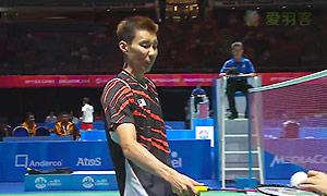 李宗伟VS菲尔曼 2015东南亚运动会 男单半决赛视频