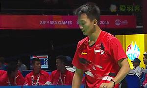 毛拉那VS阿里夫 2015东南亚运动会 男单半决赛视频