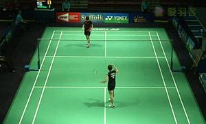 高桥沙也加VS张雁宜 2015美国公开赛 女单1/4决赛视频