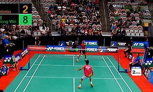 李宗伟VS安东尼奥 2015加拿大公开赛 男单资格赛视频
