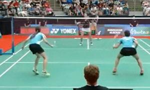 穆斯肯斯/皮克VS潘乐恩/谢影雪 2015加拿大公开赛 女双半决赛视频
