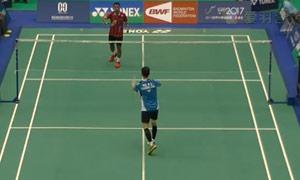 苏吉亚托VS伍家朗 2015台北公开赛 男单资格赛明仕亚洲官网
