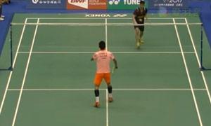 谌龙VS吴顺发 2015台北公开赛 男单资格赛视频