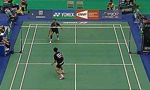 约根森VS陈仁杰 2015台北公开赛 男单资格赛视频