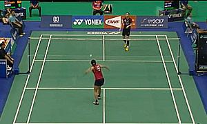 佐藤冴香VS成池铉 2015台北公开赛 女双1/16决赛视频