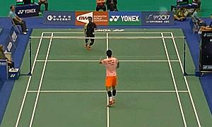 谌龙VS维尔马 2015台北公开赛 男单1/16决赛视频